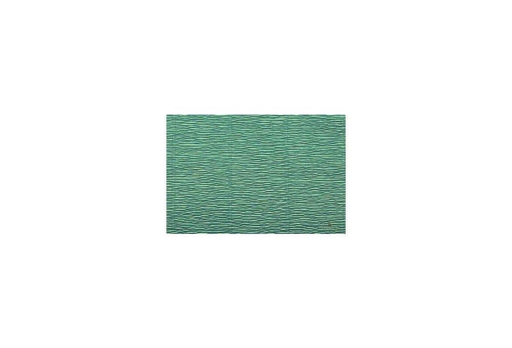 бумага гофрированная морская волна