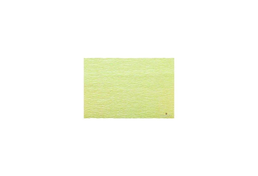 гофрированная бумага салатовая
