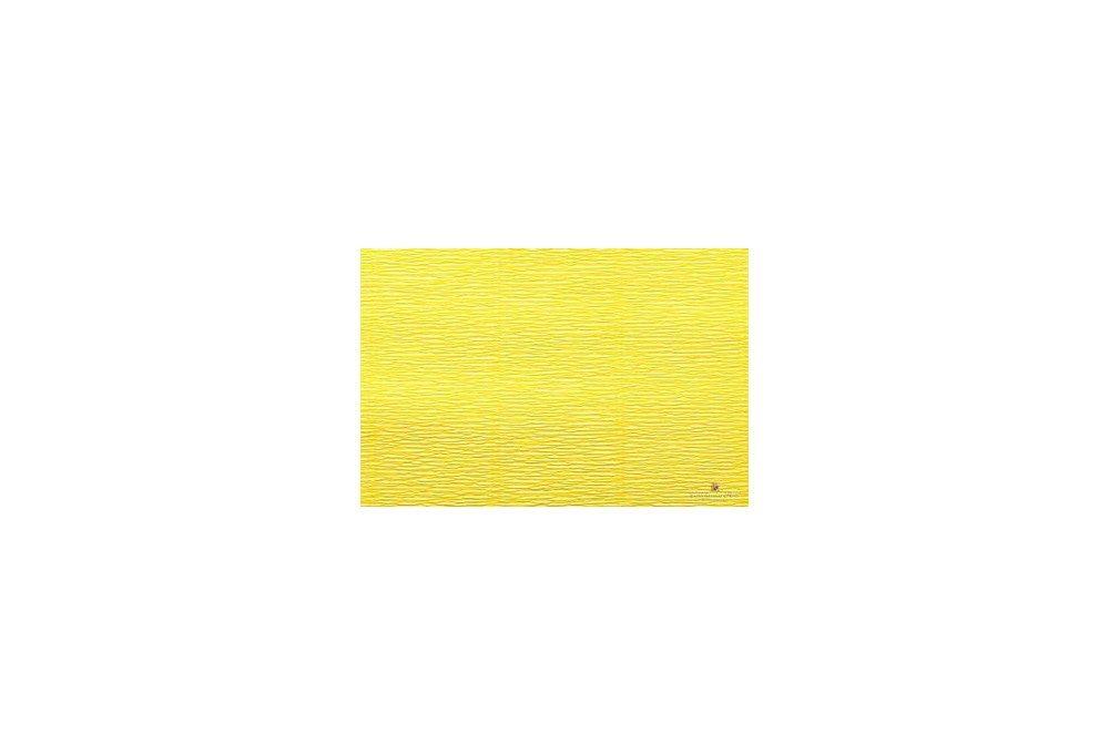 гофрированная бумага лимонная