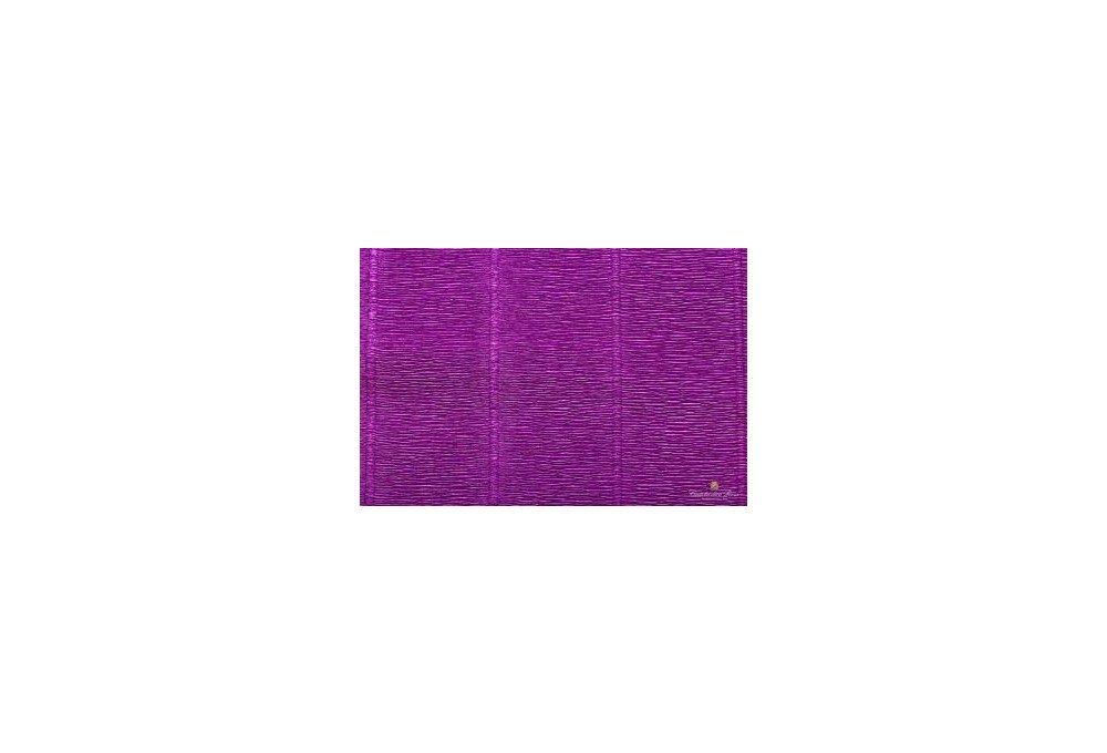 гофрированная бумага фиолетовая