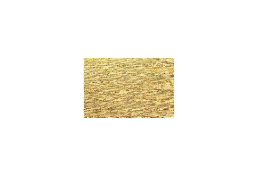 гофрированная бумага золото