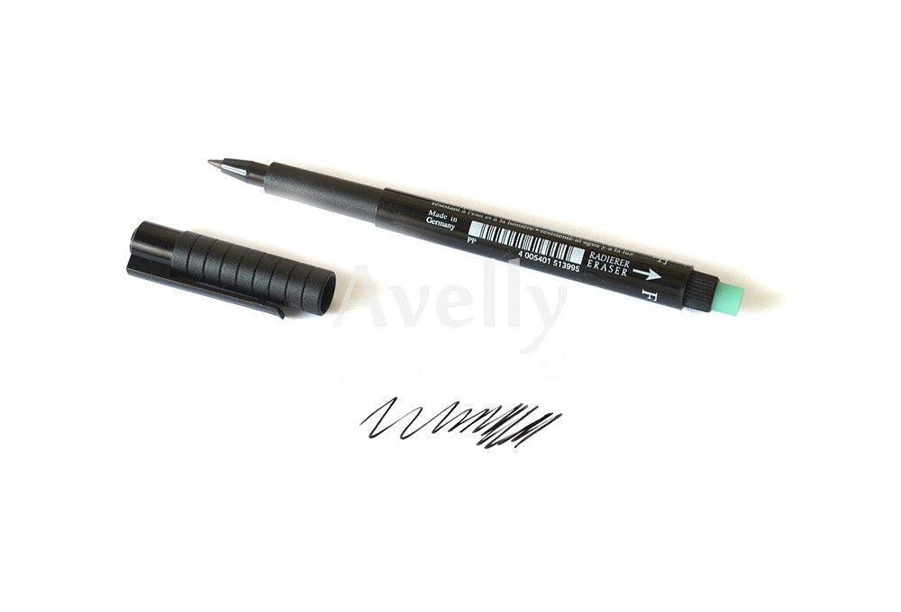 черный перманентный маркер