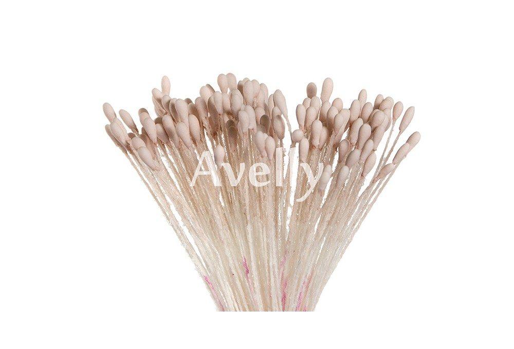 Тычинки для цветов пыльно-розовые