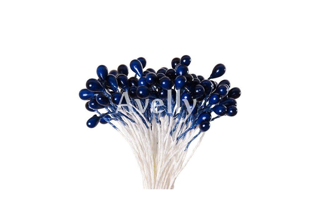 Тычинки для цветов черничные, перламутр
