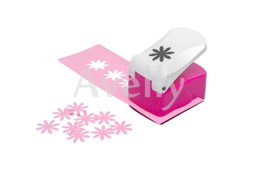 Фигурный дырокол, цветок герберы, 16 мм