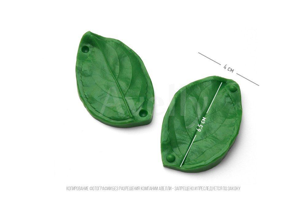 полиуретановый молд лист яблони