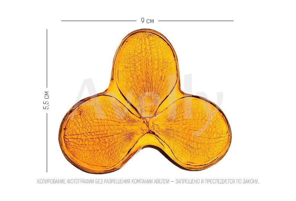 Текстурный молд лепесток орхидеи ванда