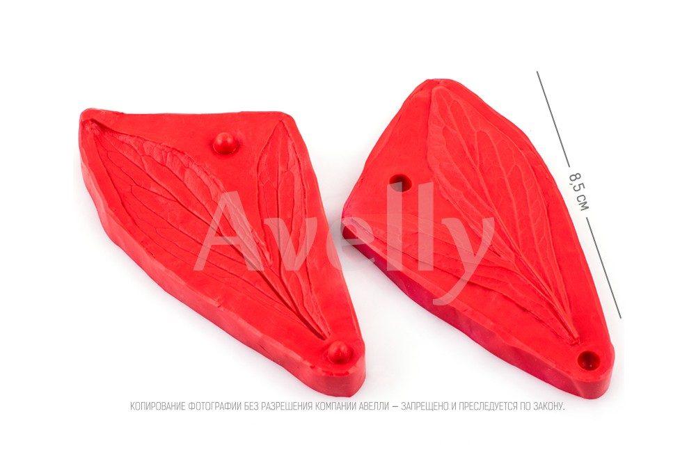 силиконовый вайнер лист пиона 3 в 1