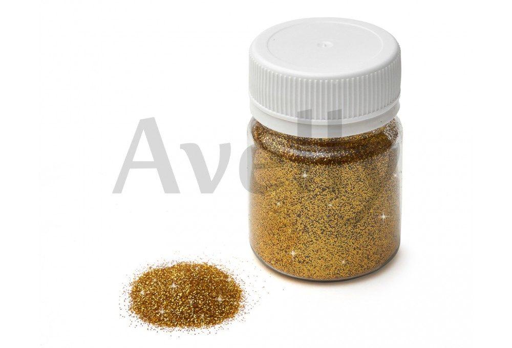 Блестки желтое золото