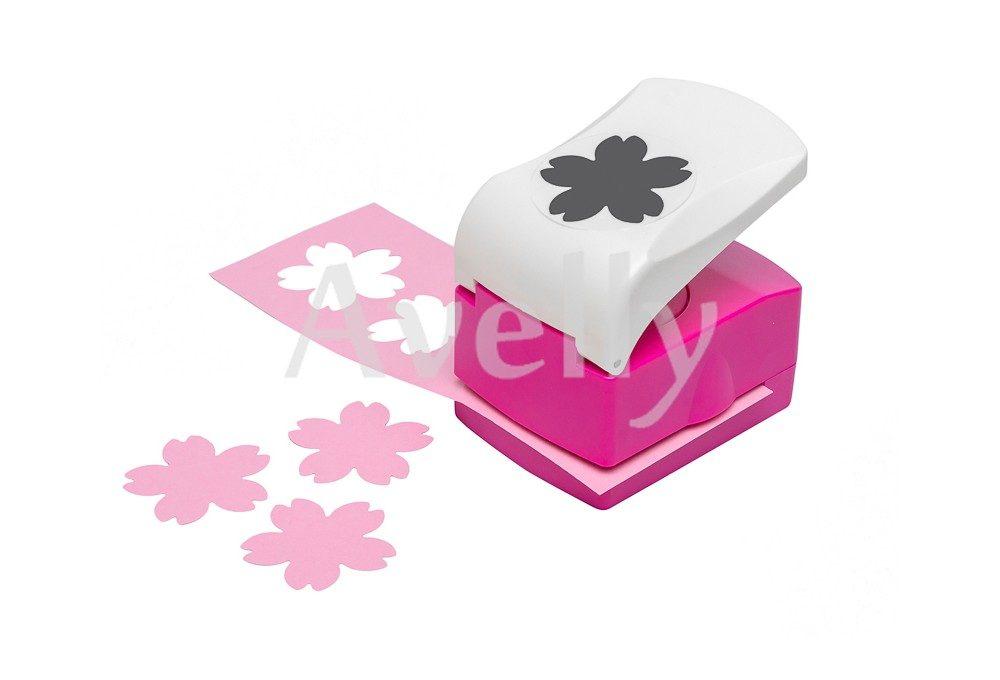 Фигурный дырокол цветок вишни, 5 лепестков, 50 мм
