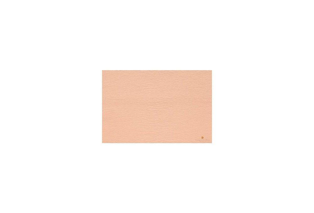 гофрированная бумага бело-розовая