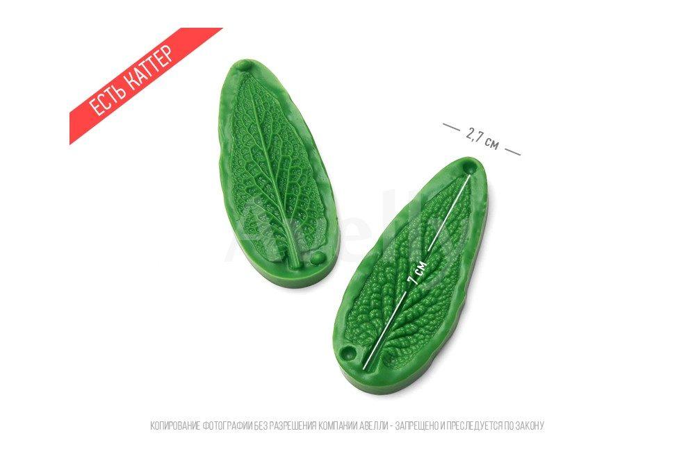 полиуретановый молд для двойных листьев