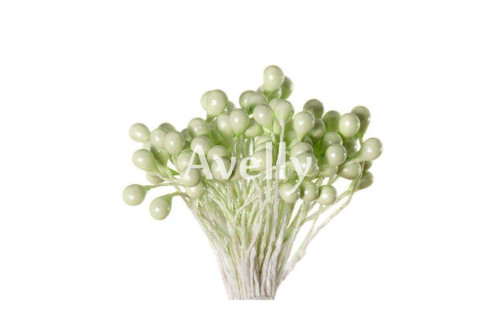 Тычинки для цветов грушевые, перламутр