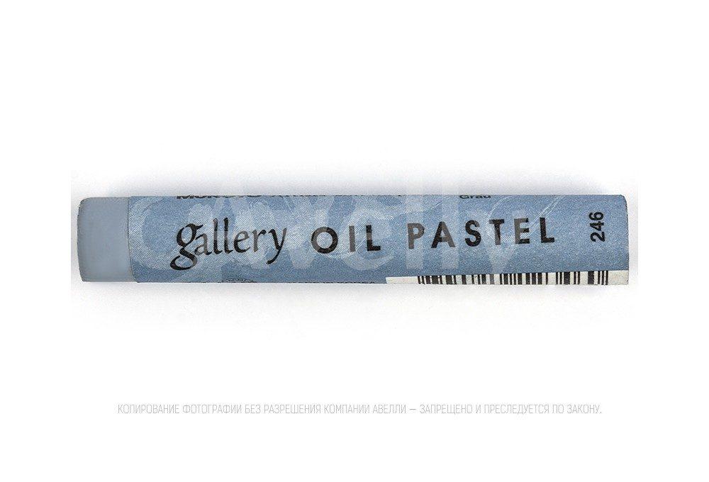 масляная пастель, цвет №246, серый