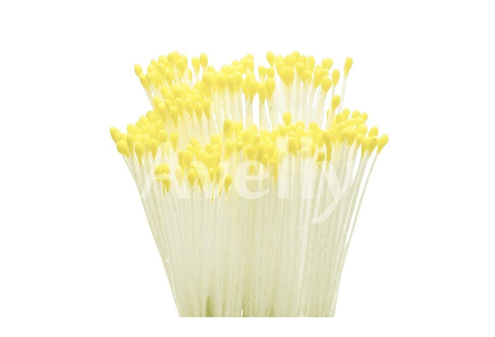 Тычинки для цветов лимонные, мелкие