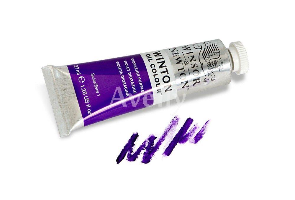 масляная краска WInton Purple dioxazin
