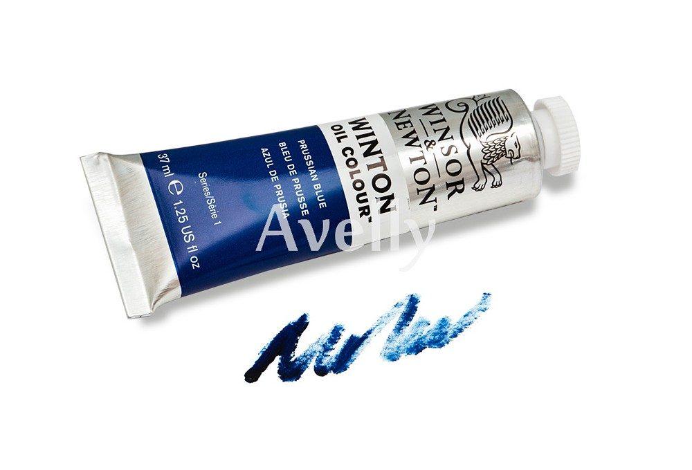Масляная краска Winton Синий Прусский, Prussian blue, №33, 37 мл