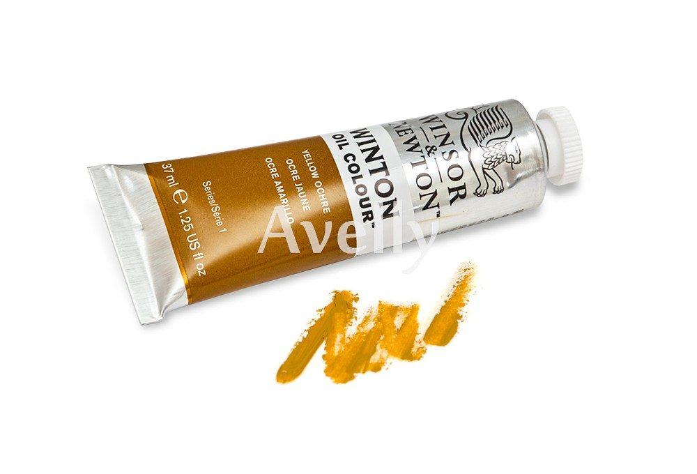 Масляная краска Winton Желтая охра, Yellow ochre, №44, 37 мл