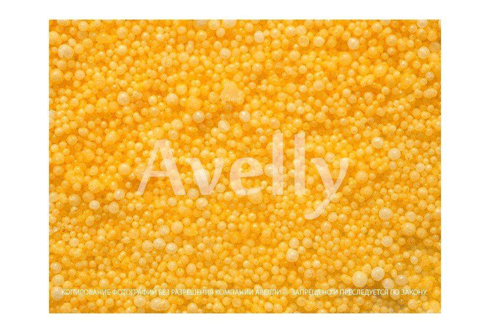 Декоративные шарики для тычинок и пестиков антурима, желтые