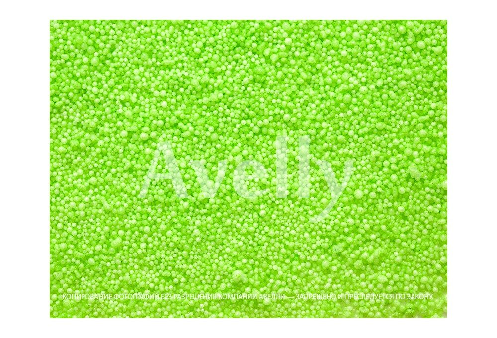 Декоративные шарики для тычинок и пестика антуриума, зеленые