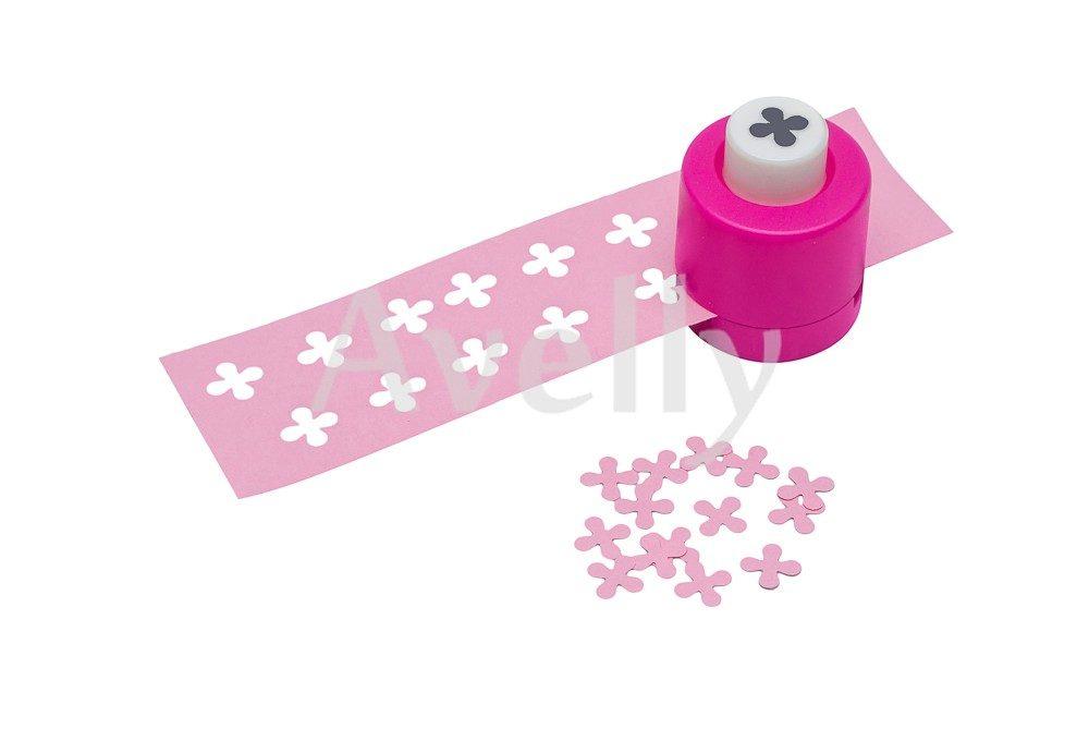фигурный дырокол для бумаги, в виде цветка сирени, 8 мм