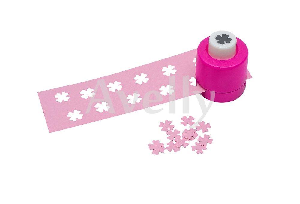 фигурный компостер для бумаги и скрапбукинга в виде цветка