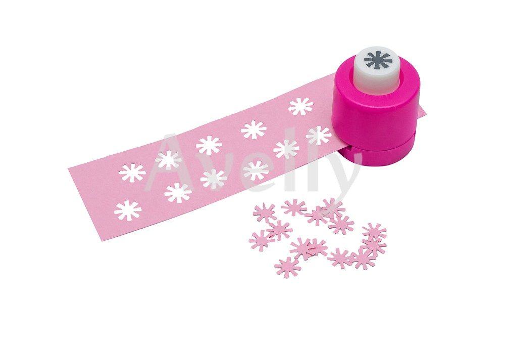 фигурный компостер для бумаги и скрапбукинга в виде цветка ромашки, 8 мм