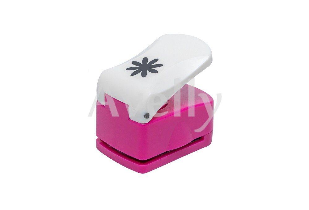 фигурный дырокол или компостер для бумаги и фоамирана в виде цветка герберы,16 мм
