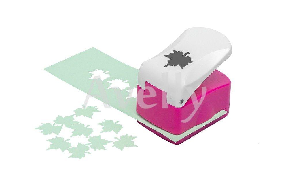 фигурный компостер для бумаги, фоамирана, скрапбукинга, кленовый лист,12 мм