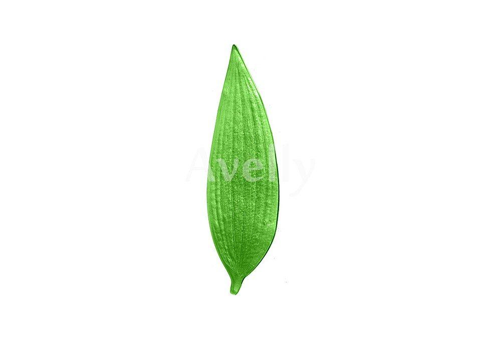 текстурный молд лилия лист широкий
