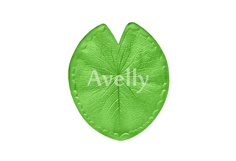 текстурный молд лист кувшинки