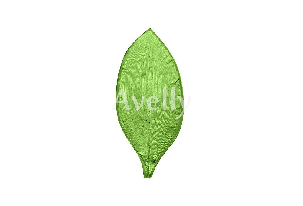 текстурный молд лист ландыша