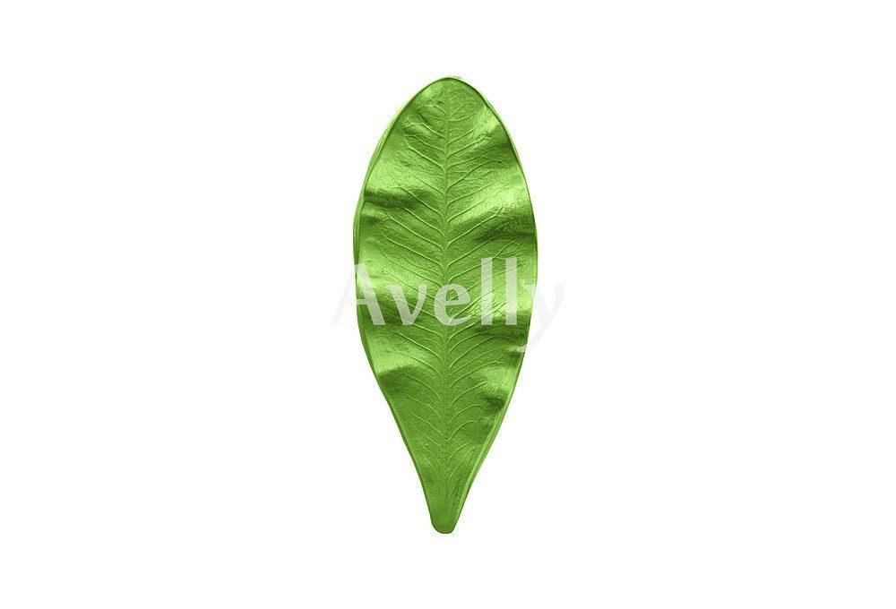 текстурный молд лист пуансетии