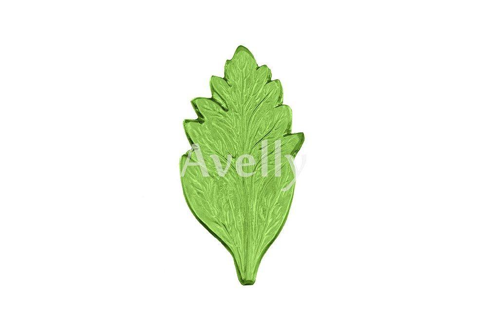 текстурный молд лист хризантемы