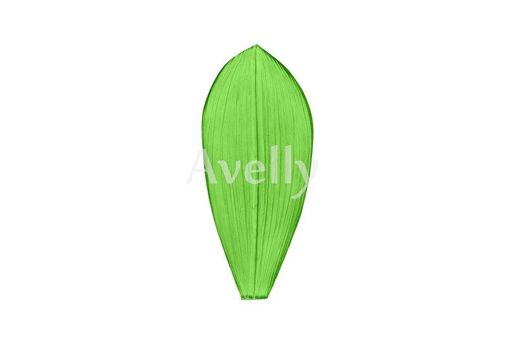 Текстурный молд лист орхидея фаленопсис