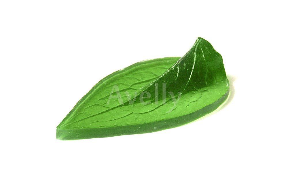 текстурный молд клематис лист большой
