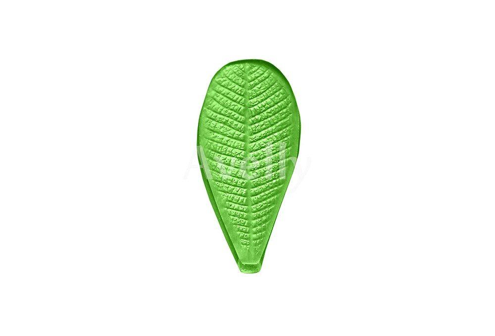текстурный молд лист плюмерии маленький
