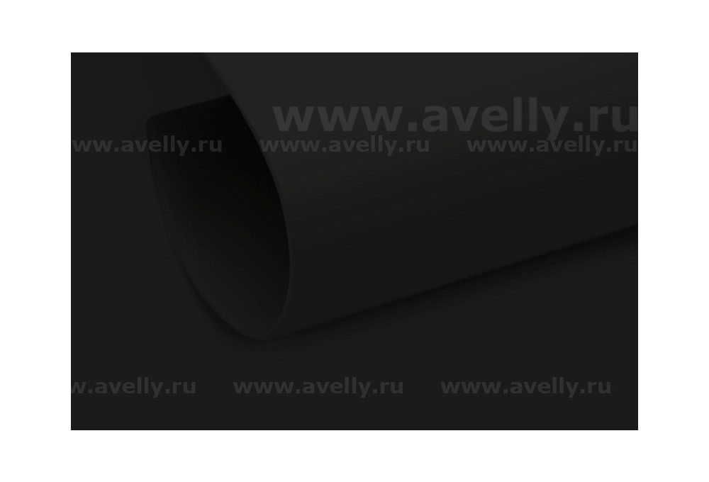 фоамиран иранский для рукоделия цвет черный 60*90 см