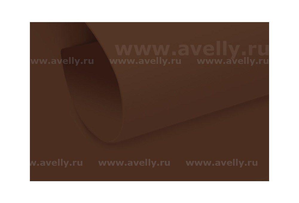фоамиран иранский для творчества и рукоделия цвет коричневый 60*90 см