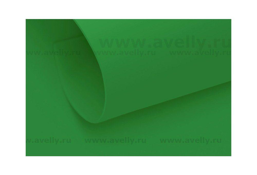 фоамиран иранский для цветов и листьев весенняя зелень 60*70 см