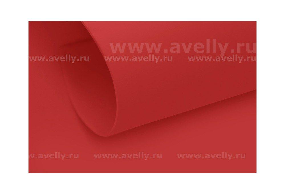 фоамиран иранский карминовый насыщенно-красный 60*70 см