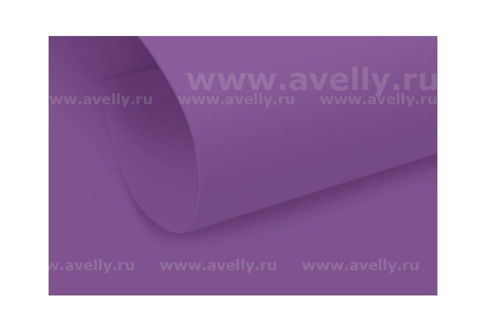 фоамиран иранский для рукоделия цвет фиолетовый, 60*90 см