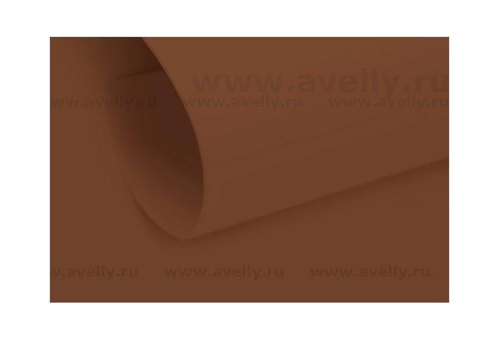фоамиран иранский для рукоделия цвет коричневый 6*90 см
