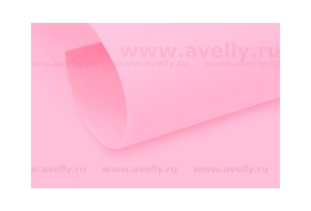 фоамиран иранский цвет клубничный зефир, бледно-розовый