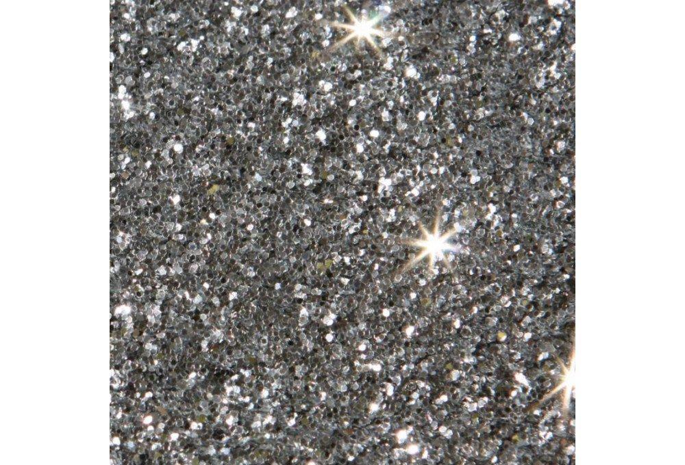 песок с блестками серебяный