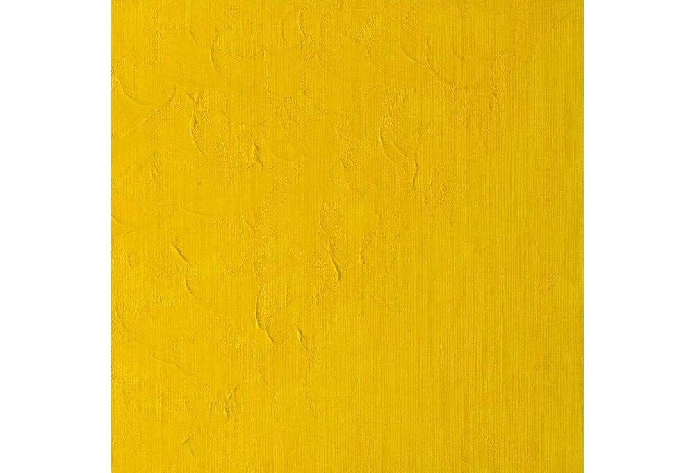 Выкраска масляной краски Winton Бледно-желтый кадмий (Cadmium yellow pale hue)