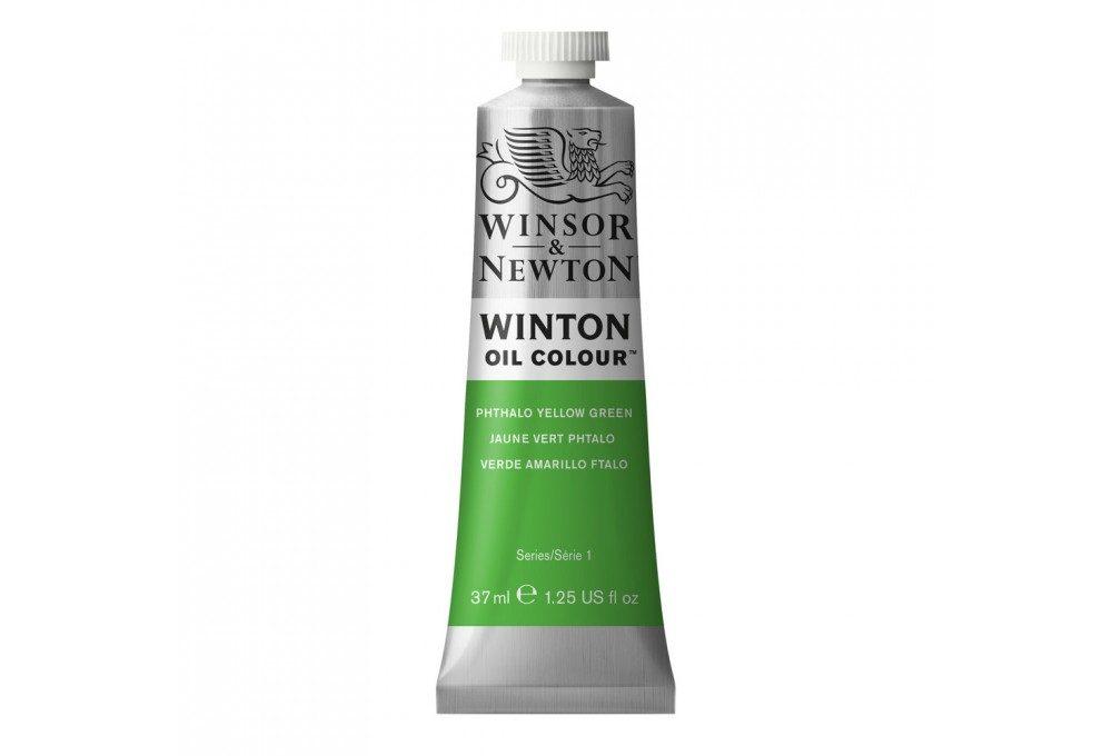 Масляная краска Winton Фтало желто-зеленый (Phthalo yellow green)