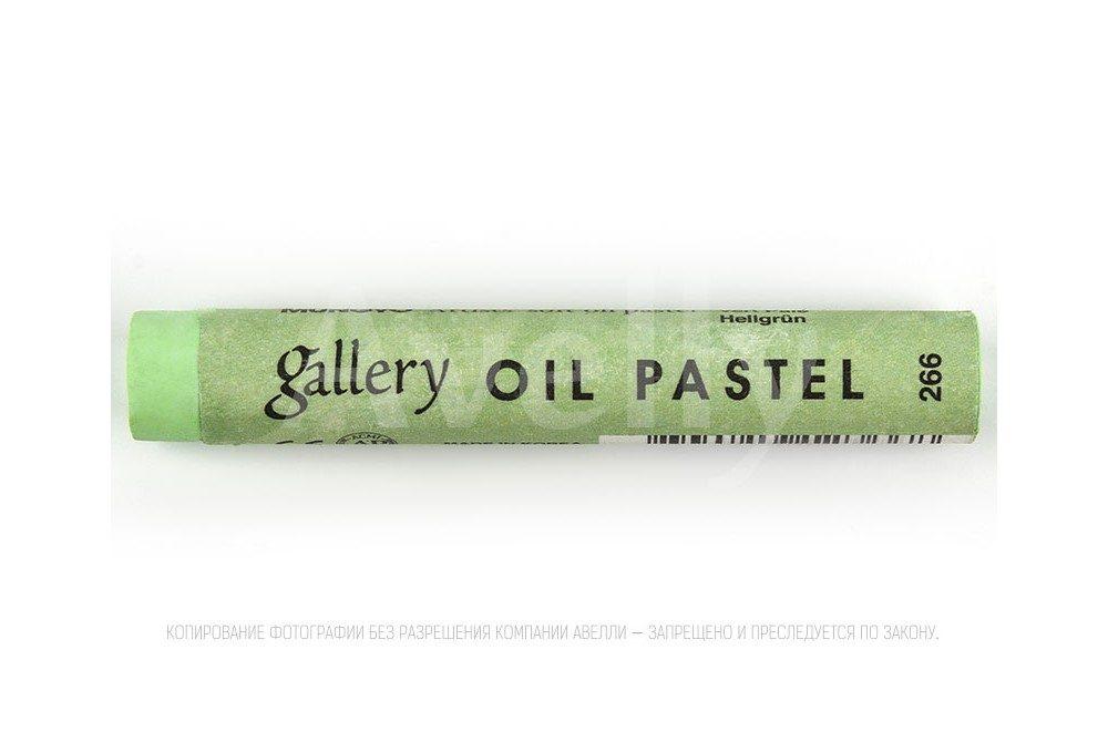 пастель масляная весенняя зелень