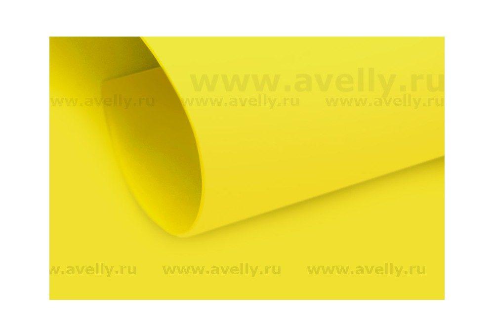 фоамиран корейский цвет лимонный (желтый)