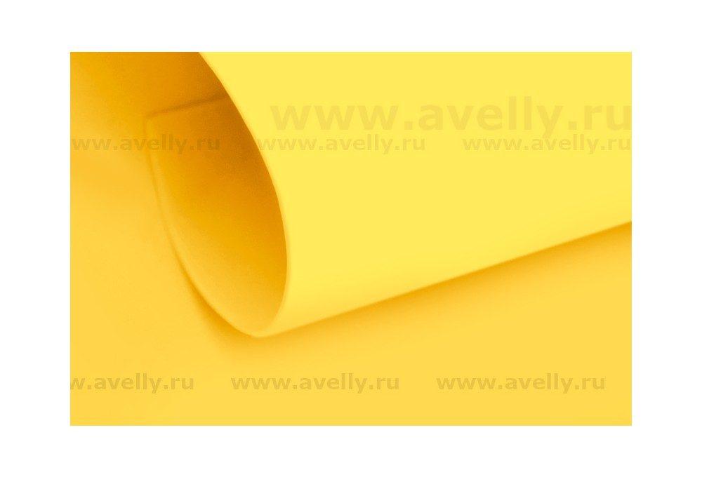 фоамиран корейский цвет манговый (желтый)